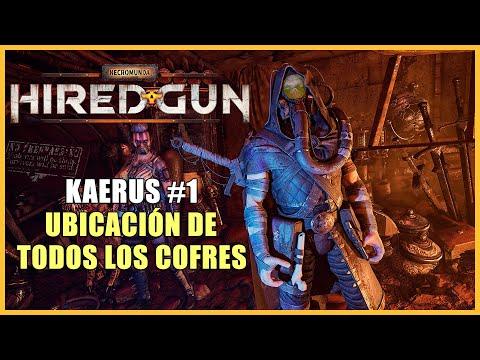 Necromunda: Hired Gun walkthrough - All 5 chests locations in Kaerus - mission 1