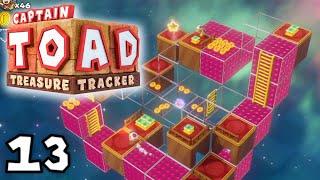 Piepende Blöcke in den Sternen! | #13 | Captain Toad: Treasure Tracker