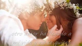 Monchy y Alexandra - Hoja en blanco with lyrics
