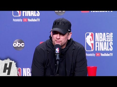 Nick Nurse Full Interview - Game 5 Preview | 2019 NBA Finals Media Availability