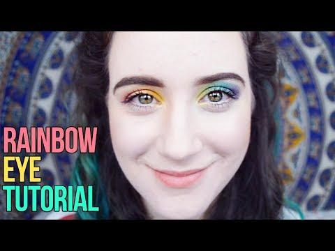 Gay Pride Eyeshadow Makeup Tutorial | HISSYFIT