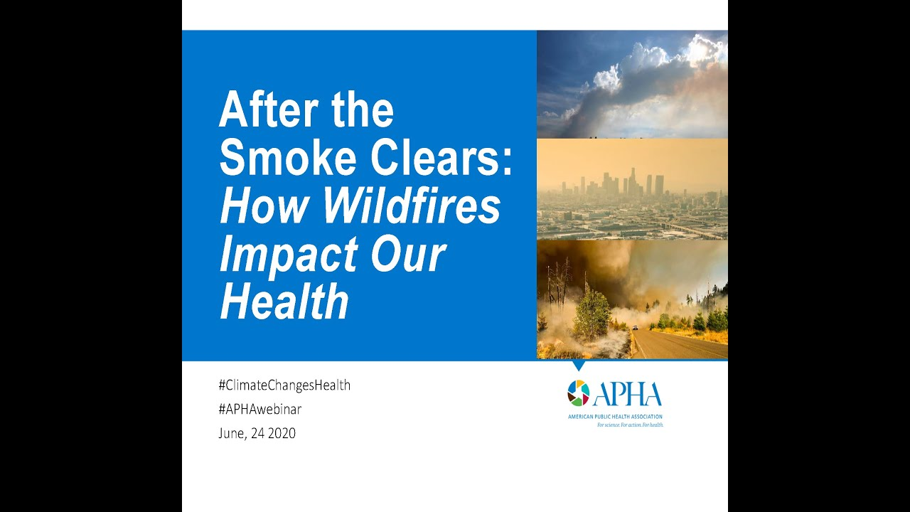 After the Smoke Clears: How Wildfires Impact Our Health