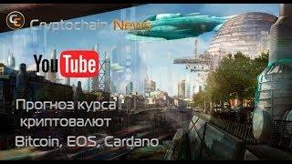 Прогноз курса криптовалют Bitcoin, EOS, Cardano. Сколько будет стоить биткоин завтра?