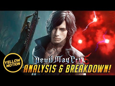 DEVIL MAY CRY 5 | V Wants Dante Dead?! & Is V Really Mundus? Theory Analysis & Breakdown