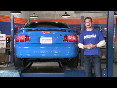 Mustang Third Brake Light Decal (94-98) Review