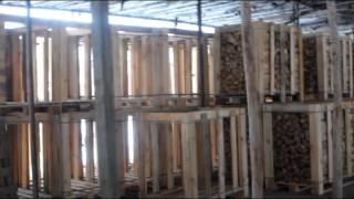 Сушка дров за сутки(ALTENERGY | www.altenergyon.com Скоростная сушка дров - комплекс по производству сухих дров - 30 складометров/сутки до влаж..., 2015-09-11T16:37:13.000Z)