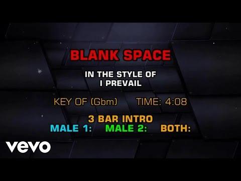I Prevail - Blank Space (Karaoke)