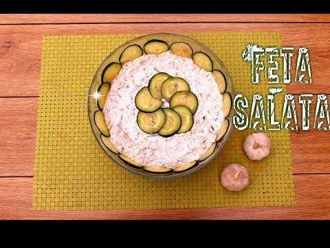 Feta salata | Feta Cheese Salad Recipe