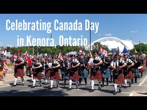 CANADA DAY Celebration In Kenora, Ontario 🇨🇦   Vlog # 2