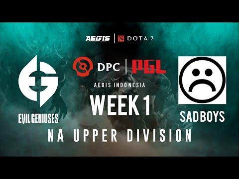 Evil Geniuses vs S A D B O Y S   BO3   DPC 2021: Season 1 - North America Upper Division