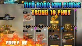 [Garena Free Fire] Tiêu Hết 1 Triệu Đồng Trong 10 Phút | Sỹ Kẹo