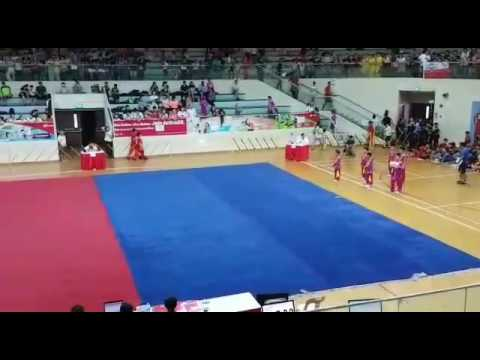 National School Wushu Championship 2017 - Group Weapon