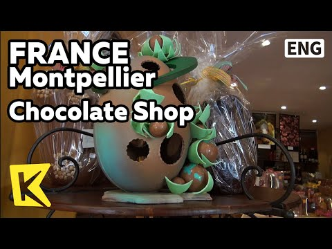 【K】France Travel-Montpellier[프랑스 여행-몽펠리에]중세 골목, 초콜릿가게/Chocolate Shop/Alley/Street/Easter