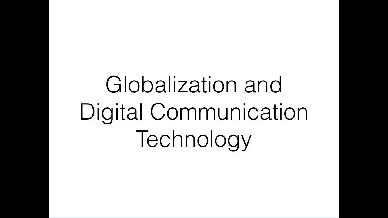 digital communication 2 essay