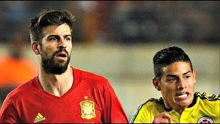 España vs Colombia 2-2 goles Resumen de Partido Highlights  7/6/2017  - Spain vs Colombia 2017