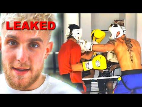 Jake Paul Sparring Footage (LEAKED)