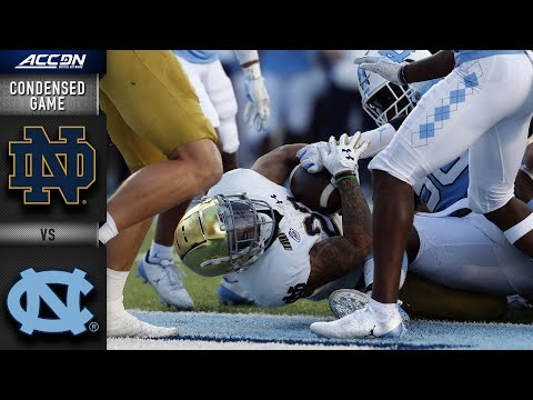 Notre Dame vs. North Carolina Condensed Game | 2020 ACC Football