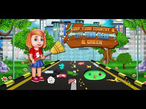 Keep Your Country & City Town Clean & Green - Cleaning Activities GamePlay Video By GameiMake