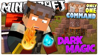 Minecraft | BE AN EVIL WIZARD! | Dark Magic Custom Command