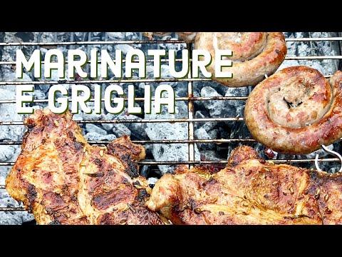 Marinature carne alla griglia