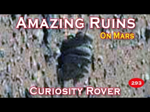 Amazing Statues Depicting Life On Mars Revealed By NASA's Curiosity Rover