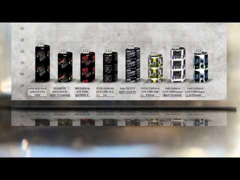 BEST GTX 1080 BENCHMARK  - CUSTOM CARDS COMPARED – ASUS vs GIGABYTE vs MSI vs EVGA vs ZOTAC vs PALIT