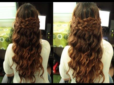 selena gomez boho braided hairstyle