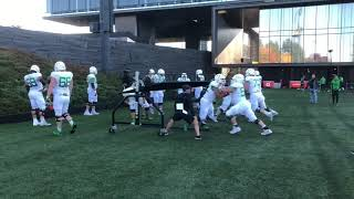 Oregon Ducks football practice 10/16/18
