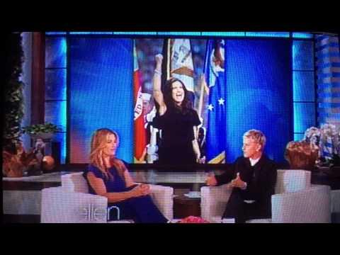 Idina Menzel interview on Ellen 4/30/15