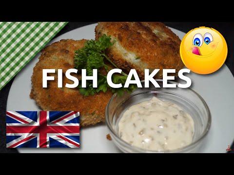 Home Made British Fish Cakes