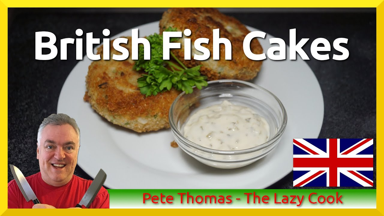 Home Made British Fish Cakes