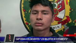 Policías detienen a delincuentes que asaltaban en plena Vía de Evitamiento