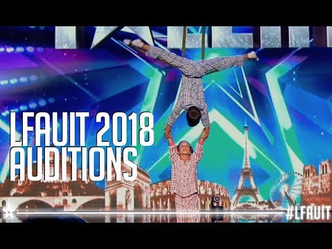 Katya et Nikita|  Auditions | France's got talent 2018