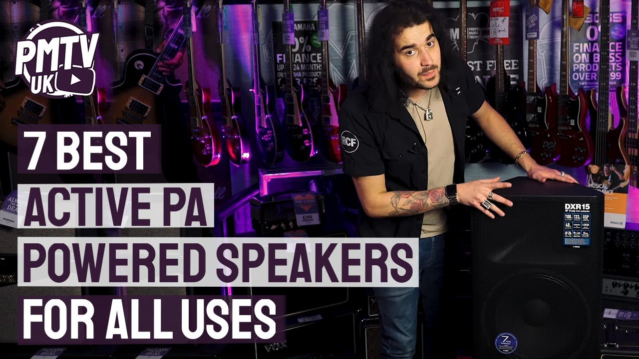 7 best active pa speakers the best powered speakers for all uses youtube. Black Bedroom Furniture Sets. Home Design Ideas