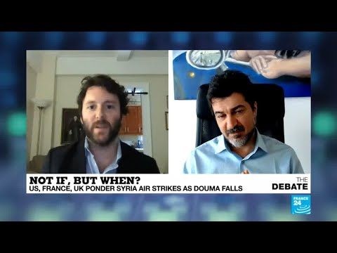 """Syria: """"He's a propagandist"""" Heated debate between blogger Camille Otrakji and author Michael Weiss"""