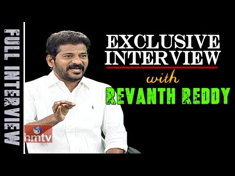 TTDP Working President Revanth Reddy Exclusive Interview | W