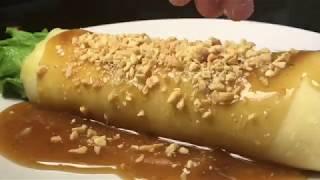 Lumpiang Sariwa/Vegetable Crepe