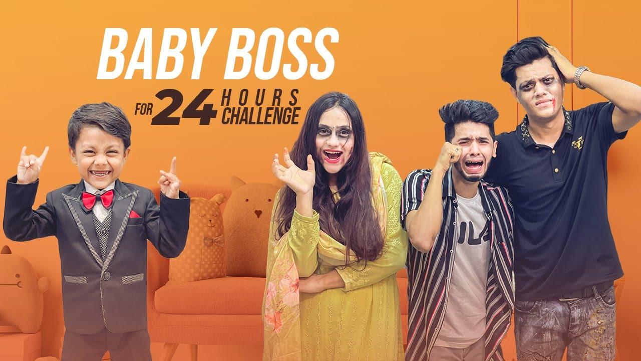 Download বেবি বস (Boss) সবার অবস্থা খারাপ করে দিলো | Baby Boss For 24 Hours Challenge | Rakib Hossain