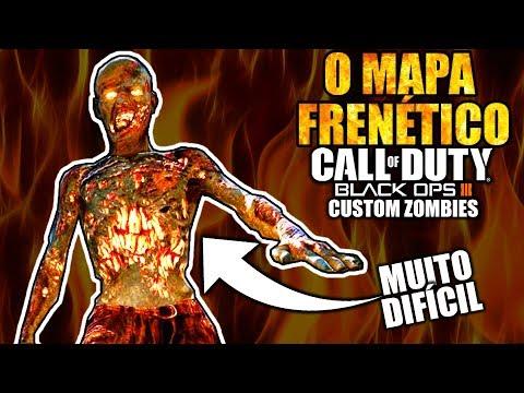 🔥O NOVO MAPA MAIS DIFICIL DO MUNDO🔥 - Black Ops 3 - Custom Zombies - REVOLVING ELEVATION