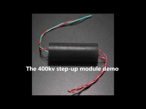 How To Make A Stun Gun High Voltage Circuit With Xgen