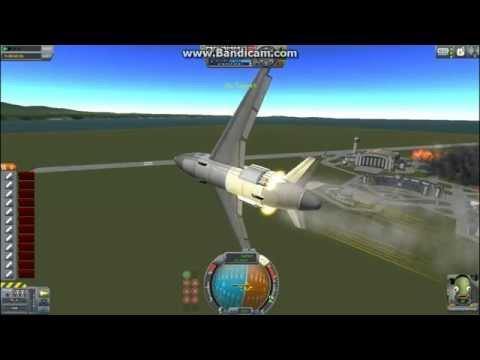 KSP gun powered plane (removed water mark)