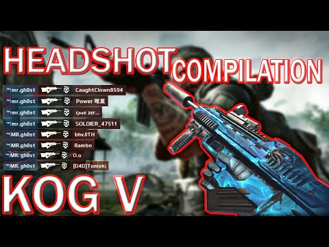 MODERN COMBAT 5- KOG-V HEADSHOT KILLS COMPILATION,KOG-V BEST HEADSHOT KILLS