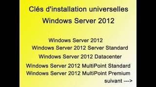 Clef Windows Server 2012 universal, premium,  licence key, universal key activation product serial