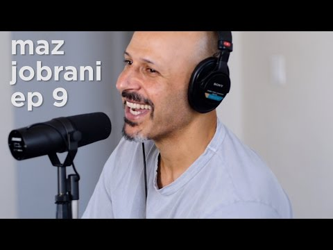 comedian maz jobrani on fleeing iran, trump, and being famous while living with your mom | ep 9