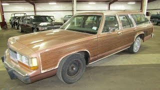 1990 Ford Crown Victoria LTD Country squire station wagon | For Sale | Online Auction