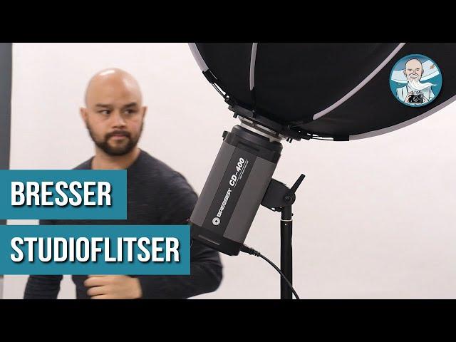UITSTEKENDE FLITSER voor PORTRETFOTOGRAFIE [Bresser CD-400 Review!]