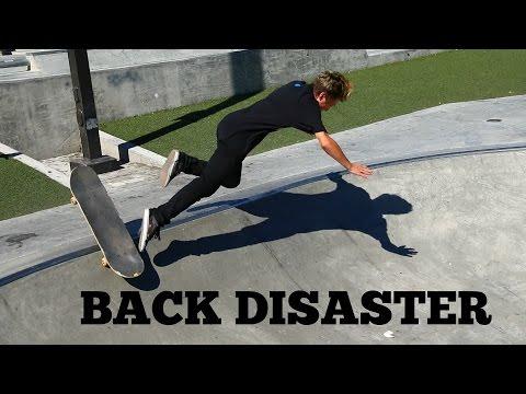 TODAY I LEARN   BACKSIDE DISASTER + GAB SKATING TRANSITION