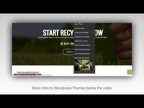 Ecorecycling WordPress Theme – WP Theme Ecorecycling – Demo
