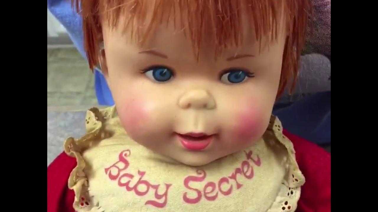 Baby Secret Doll By Mattel 1965 Youtube