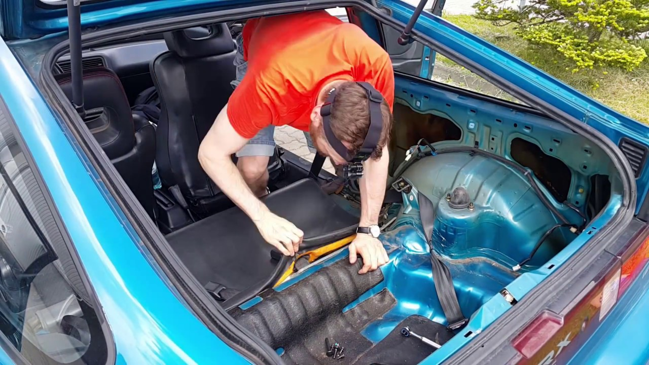 small resolution of crx interior rear seat removal quick cam